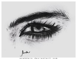 Eye drawing by anabdero