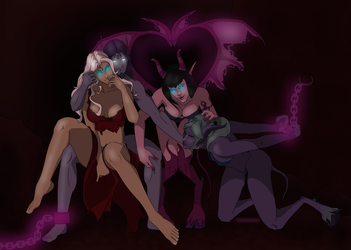 The Black Lotus Coven by MischiArt