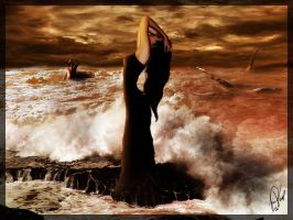 A Rock in a Sea of Ecstasy by psivamp