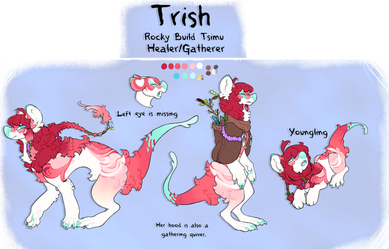 Official Tsimu Ref: Trish by Dominos-Cat