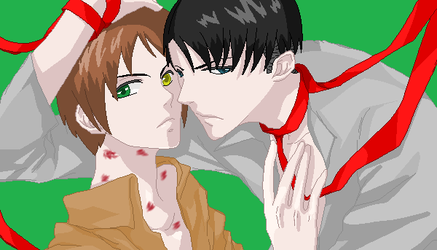 Ereri by Mochi-and-2P-Rose