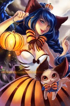Happy Halloween! by OlchaS