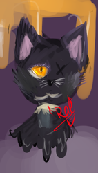 drawing cats is hard frick oF by IAmACrazyRedHead