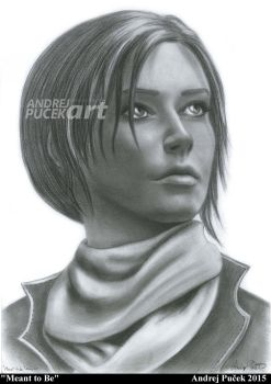 Lara Croft - Meant to Be by AndRay-BF