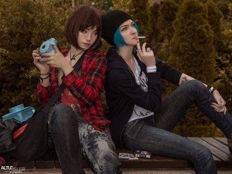 Life Is Strage- Max and Chloe by altugisler