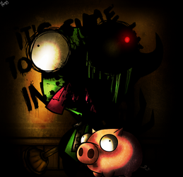 Zim and The Ink Machine Contest by BendyArtist15