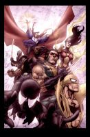 New Avengers by Yu and Morales by StephenSchaffer