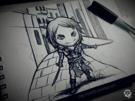 Edward Kenway sketch by Rofer96