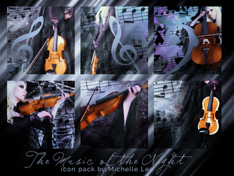 The Music of the Night - Icon Pack by limarida