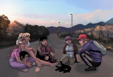 The Road by kaileighblue