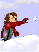 GF - Snowball Fight by Tuba-dragoness