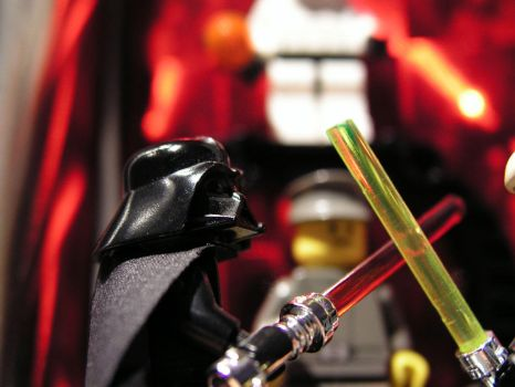 Darth Vader fight by caos