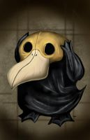 Psyduck Plague Doctor by HeroforPain