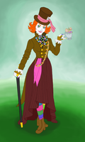 Mad Hatter - genderbend by Xijalle