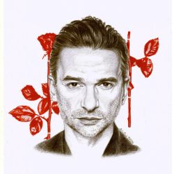 Dave Gahan the voice of Depeche Mode by Oceansoul7777