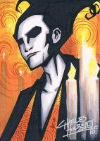 The Sandman sketch card by KidNotorious