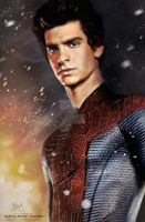 Peter Parker / The Amazing Spiderman II by Etienne-Ripzaad