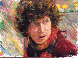 Fourth Doctor by ApeSpacer
