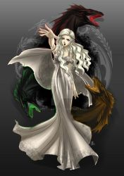 GAME OF THRONES: Daenerys targaryen by Mistiqarts