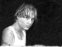 Johnny Depp by Mirally