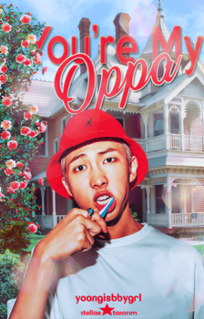 You're My Oppa / Wattpad Book Cover 4 by sahlimamat
