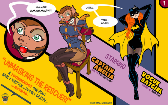 Captain Amelia and Vogue Batgirl - 01 by BatMad