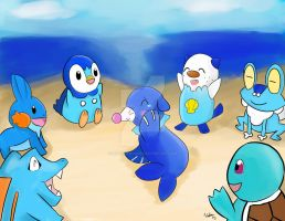 Welcome to the Family Popplio by MysticArcane
