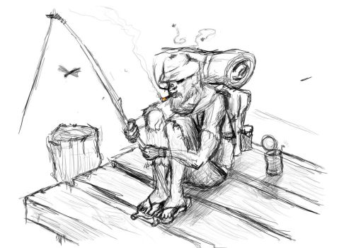 PoorMan the HoboVagrant by SatsugaiKaze