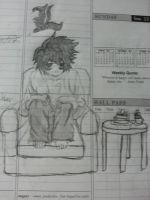 Death Note L by marshythehero