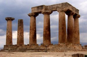 Ancient Corinth Greece by abelamario