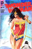 Wonder Woman 4 sketch cover by skyscraper48