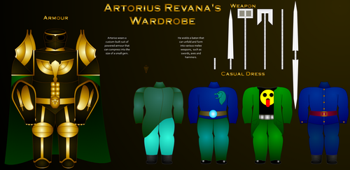 Artorius Revana - Wardrobe by MartmeisterPaladin