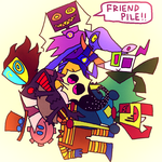 THEY ARENT ALL FRIENDS THOUGH by Slitherbot