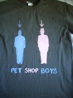 Pet Shop Boys tee by Eagly92
