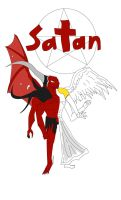 Satan: Ruler of Hell by MasterofNintendo