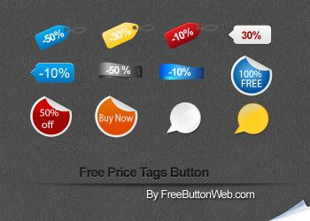 Free Price Tags Buttons by button-finder