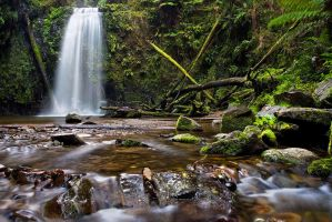 Marriners Falls, The Otways by fusionx