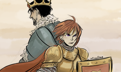 TP: you're a king and I'm a lionheart by Minuiko