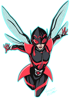 Unstoppable Wasp by LucianoVecchio