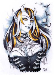 Demoness in the night by Candra
