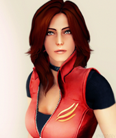 Claire  Redfield by n4nd1n8v