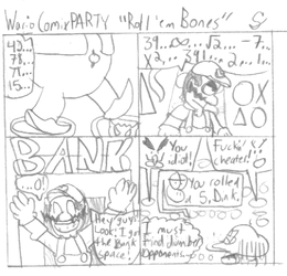 Wario Comix Party 1 by TheSuigi