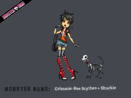 CE: Grimmie-Ree Scythes by kishi-san