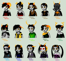 Session 1 Team DESCENDANT TALKSPRITES by SavannaEGoth