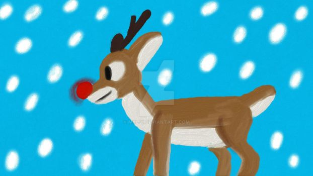 Rudolph the Red-Nosed Reindeer by mkl91