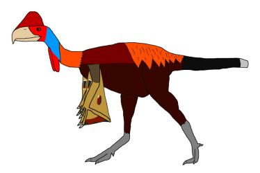 Dino Hybrid Challenge: Pseudocockatrice by Willy276