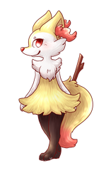 .:Braixen:. by Kitzophrenic
