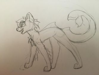 Canine character thing 2 by tinycloud247