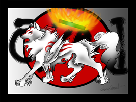 Okami Fan art by TussenSessan
