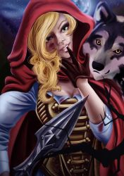 Red Riding Hood by dextira